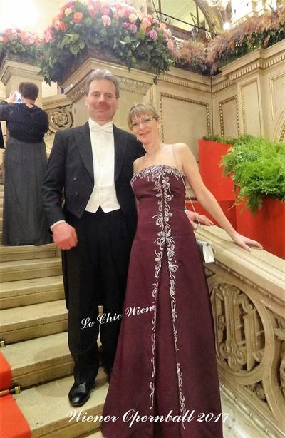Tailcoat rented for the Vienna Opera Ball at Le Chic Wien