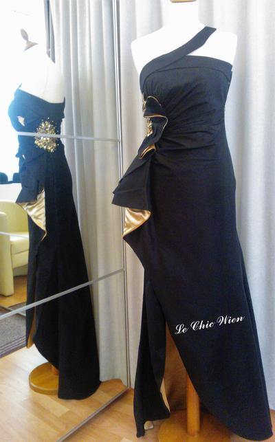 Evening dress by Le Chic Wien