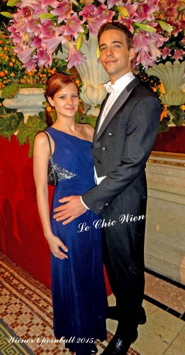 evening wear on the opera ball from Le Chic Wien