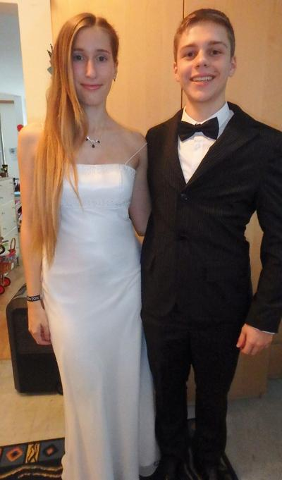 Debutante with white dress from Le Chic Wien