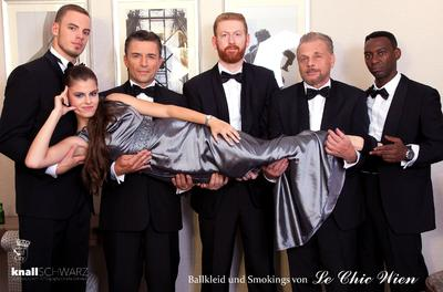 Tuxedo and Ball Gown Rental by Le Chic Wien