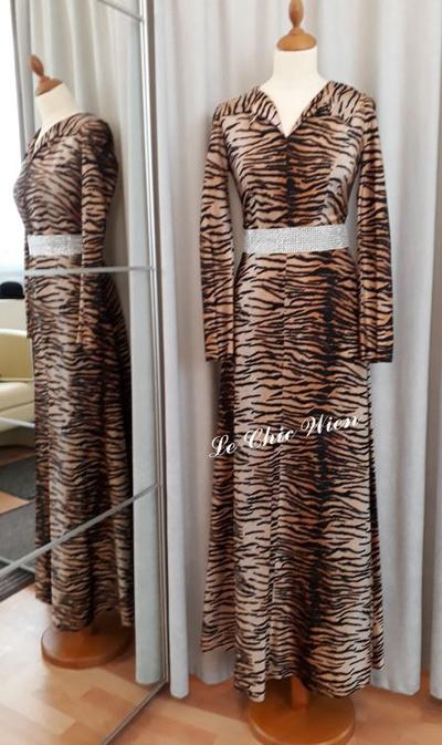 Abendkleid tigerlook