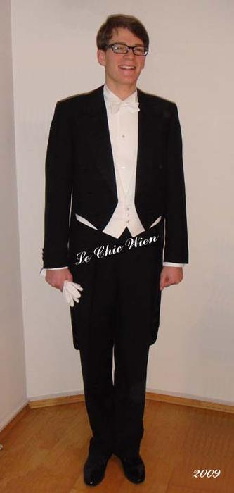 Tailcoat for the lawyers ball vienna 2009