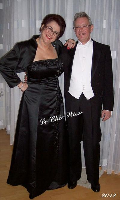 Dressed for the Vienna Opera Ball