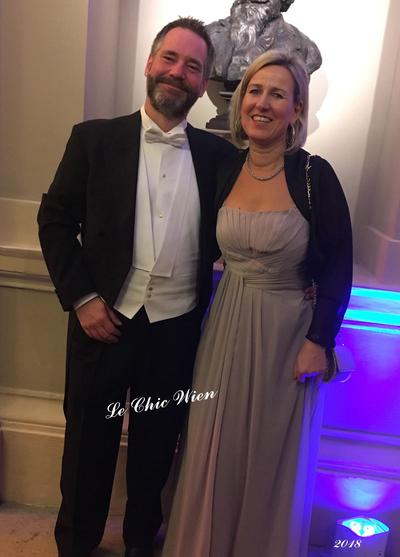 Dressed for an viennese ball